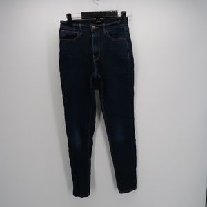 Forever 21 High Waist Skinny Ankle Denim Jeans